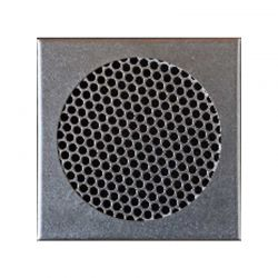 VentiCAP verluchtingsrooster diam.125 + kader 14,5x14,5