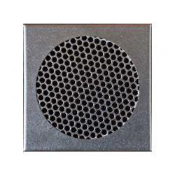 VentiCAP verluchtingsrooster diam.200 + kader 24,5x24,5