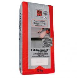 PTB FLEXcement COMFORT 15KG grijs