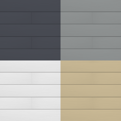 FAZA gevelplaat stalenpakket (4 kleuren)