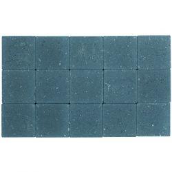 Klinker ongetrommeld 15x15 arduinblauw (pallet 11,7m²)
