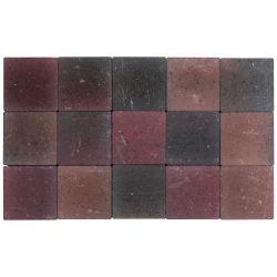 Klinker ongetrommeld 15x15 herfst (pallet 11,7m²)