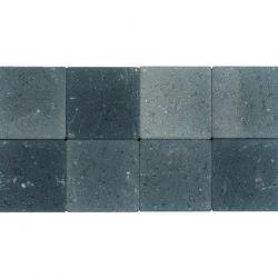 Klinker ongetrommeld 20x20 grijs-zwart (pallet 12,48m²)