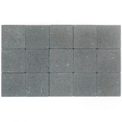 Klinker ongetrommeld zonder velling 15x15 grijs (pallet 11,7m²)