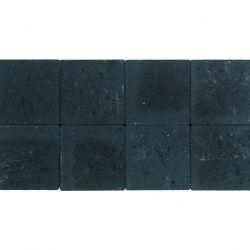 Klinker ongetrommeld zonder velling 20x20 zwart (pallet 12,48m²)