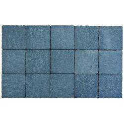 Klinker in-line trommeling 15x15 arduinblauw (pallet 11,7m²)
