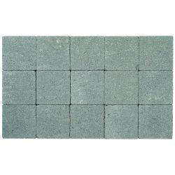 Klinker in-line trommeling 15x15 muisgrijs (pallet 11,7m²)