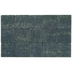 Klinker in-line trommeling 15x15 zwart (pallet 11,7m²)