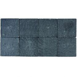 Klinker in-line trommeling 20x20 zwart (pallet 12,48m²)