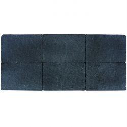 Klinker in-line trommeling 20x30 zwart (pallet 12,48m²)