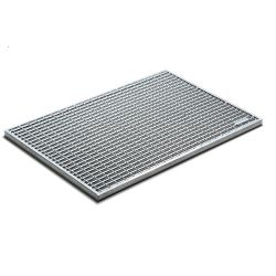 ACO CleanBox vloermat rooster staal 100x50cm