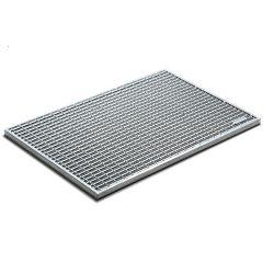 ACO CleanBox vloermat rooster staal 75x50cm