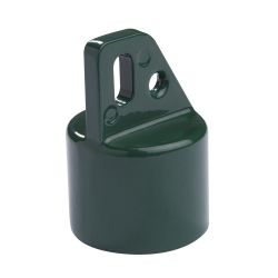 Eindkap diam.42mm + beugel diam.48mm groen