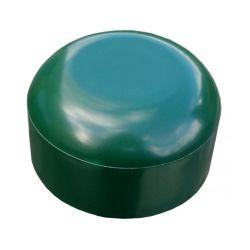 PVC paaldop 60mm groen