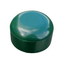 PVC paaldop 48mm groen