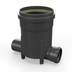 Toezichtsput PE diam. 250 - 2x110mm