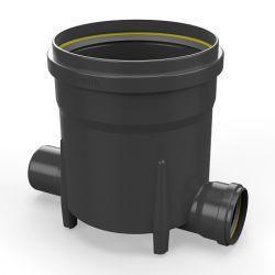 Toezichtsput PE diam. 315 - 2x110mm