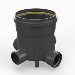 Toezichtsput PE diam. 315 - 4x110mm