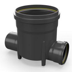Toezichtsput PE diam. 315 - 2x160mm