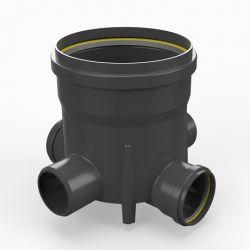 Toezichtsput PE diam. 315 - 4x125mm