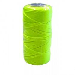 Metskoord nylon 100m - 1mm fluogeel