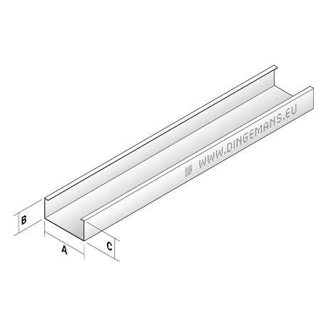 Plafondprofiel C60/27 - 4 m