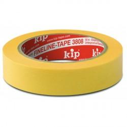 Kip 308-25 fineline tape geel 25mmx50m