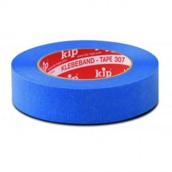 Kip 307-24 masking tape blauw 24mmx50m