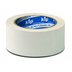 Kip 3818-55 stucatape PVC wit geribbeld 50mmx33m