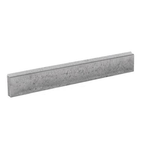 Betonnen boordsteen 100x20x6cm grijs