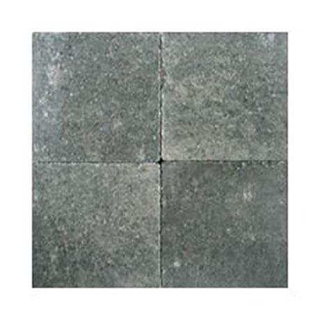 Klinkers in-line 15x15 grijszwart