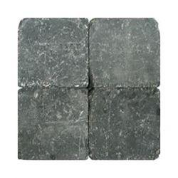Klinkers getrommeld 15x15 zwart (per stuk)