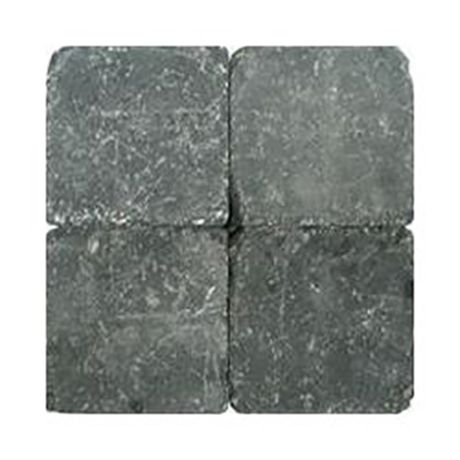 Klinkers getrommeld 15x15 zwart