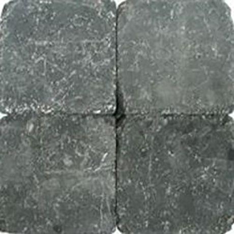 Klinkers getrommeld 20x20 zwart (12,8m²)