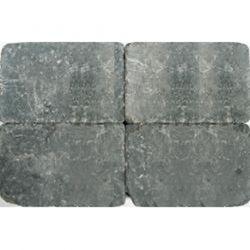 Klinkers getrommeld 30x20 grijszwart (pallet 10,8m²)