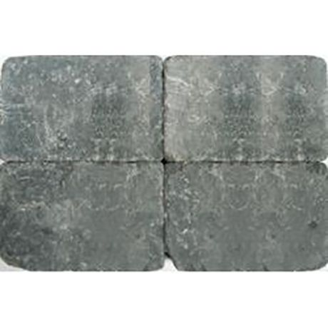 Klinkers getrommeld 30x20 grijszwart (10,8m²)