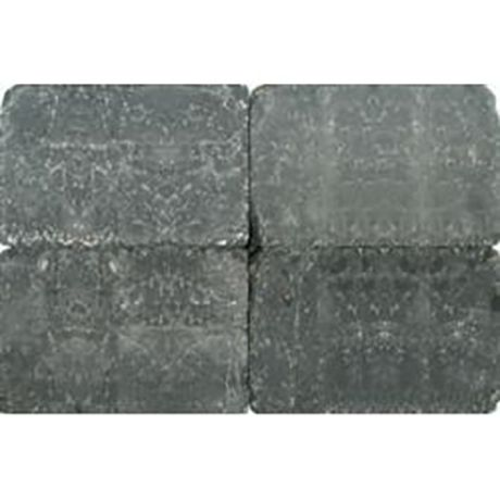 Klinkers getrommeld 30x20 zwart (10,8m²)