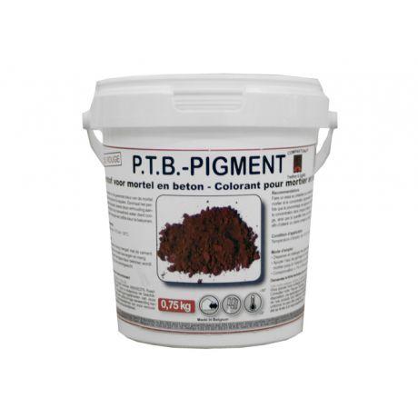 PTB Pigment 0,75kg rood
