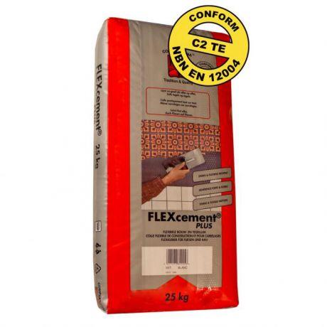 PTB FLEXcement PLUS 25KG wit