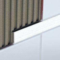 Schluter DESIGNLINE 2,5m 25mm chroom geborsteld