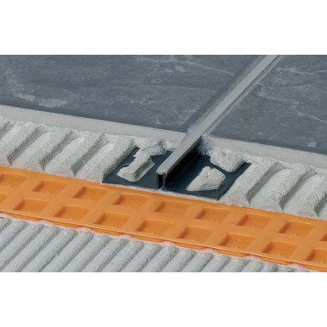 Schluter DILEX-BWS 2,5m 9mm grijs