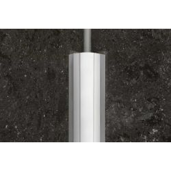 Schluter ECK-KHK 2,0m 15mm staal