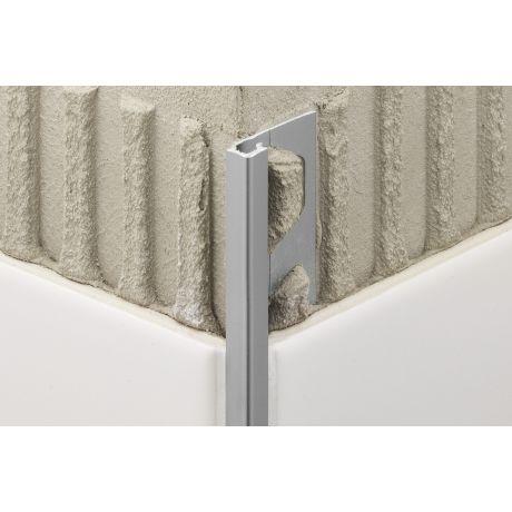 Schluter QUADEC-AT 2,5m 10mm alu titanium mat