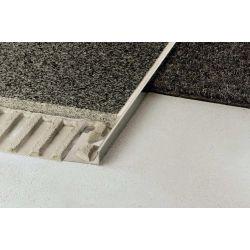 Schluter SCHIENE-EB 2,5m 12,5mm staal geborsteld