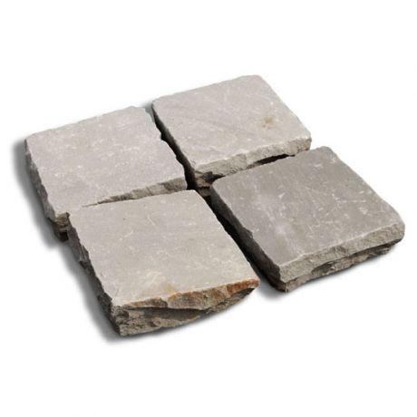 Kandla Grey 14x14x3-5cm (per stuk)