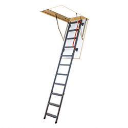 FAKRO zoldertrap LMK Komfort 70x140-H280cm