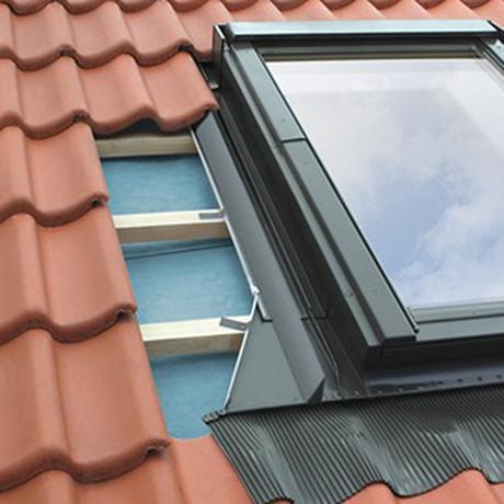 Hulpstukken plaatsing dakvenster