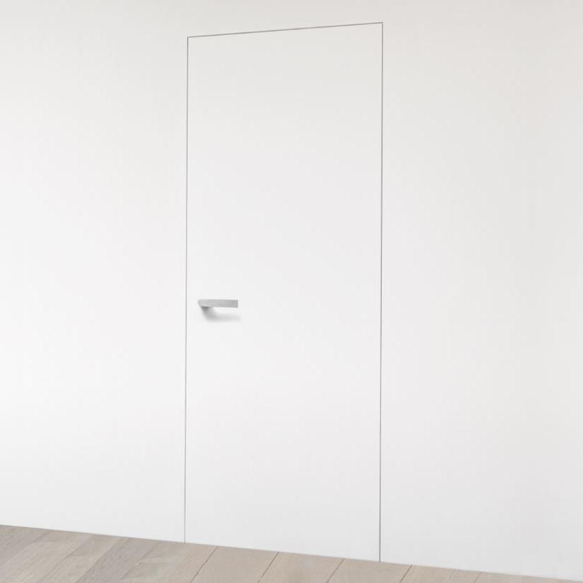 Schilderdeur met onzichtbaar frame