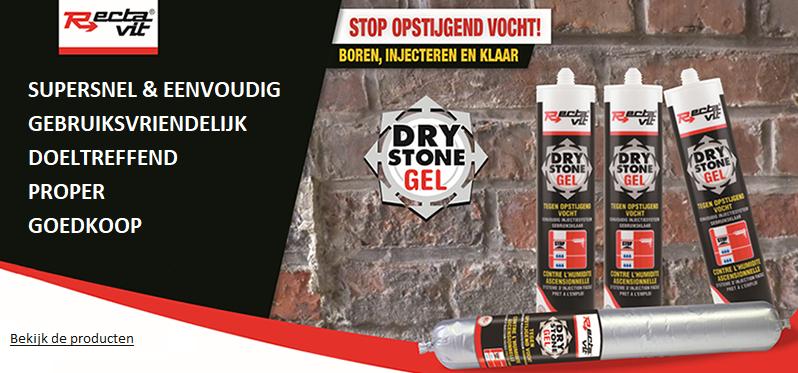 Rectavit drystone gel - stop opstijgend vocht
